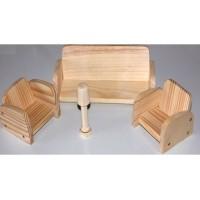 Набор мініатюрних меблів