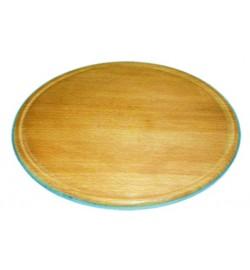 підставка під піцу з бука.Діаметр .24см доска  для пици дерево