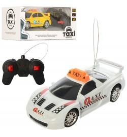 Машина RY66-1-2 (36шт) р/у, такси, 16-8-5,5см, рез.колеса, 2 вида,на бат-ке,в кор-ке,23-10,5-13,5см