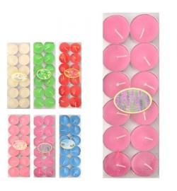 Свечи-таблетки цветные  ароматизированные 12шт/уп J01132 (200уп)