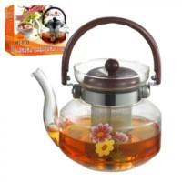 Чайник-заварник стекло 1000мл MS-0133 (24шт)