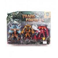 Трансформер 5035 (18шт) TF, 3шт(1в-робот+машинка,2в-робот+дракон), 16см, на листе,49-36-6см