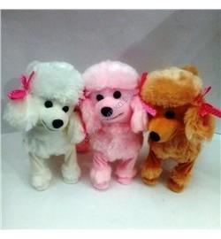 371427 мягкая игрушка Собака  пудель муз.танц 72