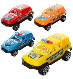 Машинка 930-30-31 (270шт) инер-я, 10,5см, 4вида, в кульке, 6-10,5-5см