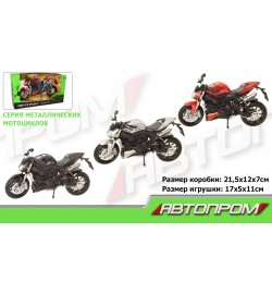 Мотоцикл метал-пластик.инерц 7746 (72шт/3)