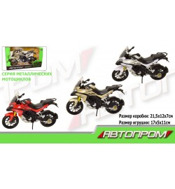 Мотоцикл метал-пластик.инерц 7748 (72шт/3)