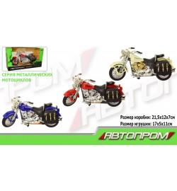 Мотоцикл метал-пластик.инерц 7749 (72шт/3)