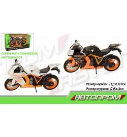 Мотоцикл метал-пластик.инерц 7750 (72шт/3)