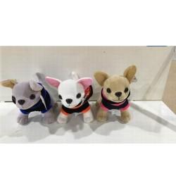 Мягкая игрушка SF265362 (120шт) собачки, 3 вида, в пакете 15*16см