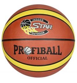 Мяч баскетбольный EV 8801-1 (30шт) 12панелей, резина, 580-600г, в кор-ке,