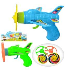 Вертушка 8512-1-8512 (360шт) пистолет, 2цвета, в кульке, 15-18-5см