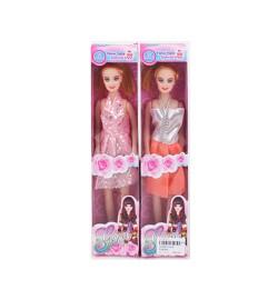 Кукла Q18 (180шт) 26см, микс видов, в кор-ке, 29-6,5-3,5см
