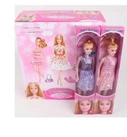 Кукла 096-B (144шт) 26см, в кор-ке, 12шт(3цвета) в дисплее, 28,5-32-13,5см