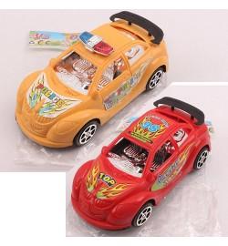 Машинка 2012-14 (320шт)  инер-я, 16см, 2вида(1вид-полиция), микс цветов, в кульке, 12-5,5-5см