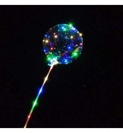 Шар Воздушный светодиодный шар круг(LED лампы, 3 режима)