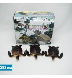 Черепаха Гонконг H9915W резин.с пищалкой, 7,5
