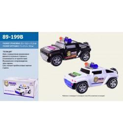 Машина батар. 89-199B (60шт/2) свет, звук, в коробке 22,5*11,5*12см