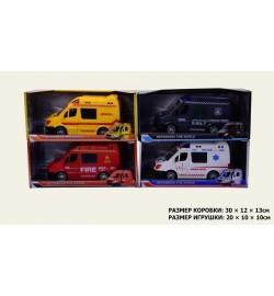 Машина батар 367-1/2/3/4 (54шт/2) 4 вида, р-р маш.20*10*10см, в кор.30*12*13см