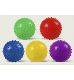 Мяч MB0106 (250шт) с шипами, резиновый 20см 45гр