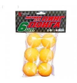 Теннисные мячики R07445 (240шт) в пакете по 6 штук 38мм (TB0101)