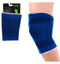 Аксессуары для спорта MS 1509 (50шт) бандаж для кол,25см,полиэст70%/резина 30%,1цв,в куль,31-14-1см