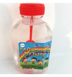 Пузыри Радужные 150мл мыльные пузыри