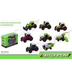 Комбайн+Трактор металл 7805(192шт/2)