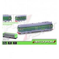 Поезд металл 7787 (1473342-R) (60шт/2)