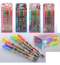 Ручка MK 1896 (320шт) 6шт,блеск,на листе,микс вид(СП,ТЧ,HK,FR,DPS,DP),40шт в дисплее,30-21,5-13см
