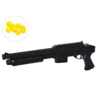 Ружье F47-4 (120шт) на пульках, 42см, в кульке, 42-15-3,5см
