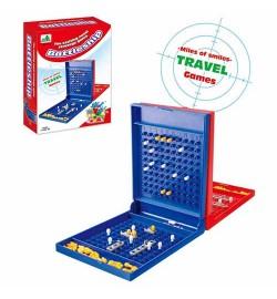 Настольная игра 8118 (144шт) Морской бой, игр. поле, фишки, в кор-ке, 14,5-20-4см
