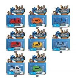 Машинка 9998-1 (192шт) TBT, металл, 6,5см, 8 видов, на листе, 12,5-15,5-4,5см