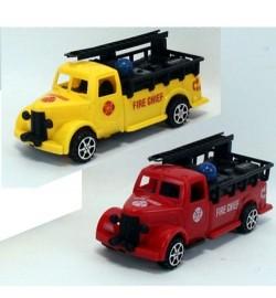Пожарная машина 189-2 (336шт) инер-я, 18см, 2цвета, в кульке, 18-7-7см