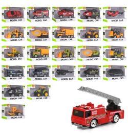 Транспорт SQ80992-1-2-3-4 (288шт) металл,от6,5см,1:64,24вида(машинка,вертолет), в кор-ке,9,5-6-4,5с
