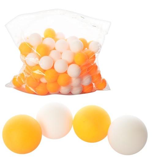 Теннисные шарики MS 0451 (2880шт) 40мм, PP, шовный, 1 упаковка 144шт, 2 цвета