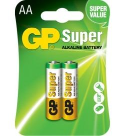 Батарейка GP 15А-U2 Alkaline LR6, АА,    2шт блистер 20