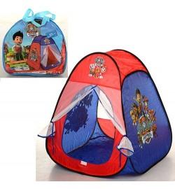 Палатка M 1429 (24шт) ЩП,пирамида,80-80-90см,1вход-сетка на липучке,1окно-сетка,в сумке,35-32-5см
