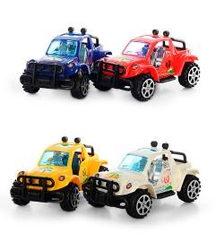 Машинка 353-29 (240шт) инер-я, 4 цвета, в кульке, 16-8,5-8см