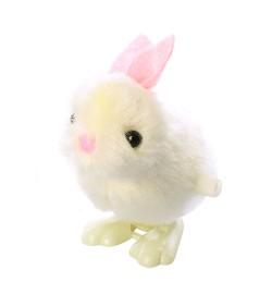 Заводная игрушка 568-23 (480шт) кролик, 8см, в кульке, 8-7-4см