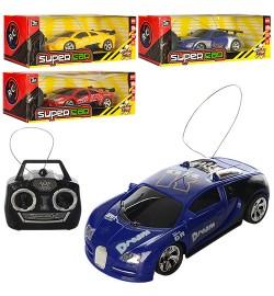Машина 6501-02-03 (72шт) р/у, 16см, рез.колеса, 3 вида, на бат-ке, в кор-ке,26,5-10,5-9,5см