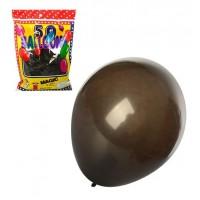 Шарики надувные MK 1740 (50шт) 12дюймов,1цвет-черный,50шт в кульке,18-25-4см