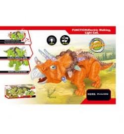 Животные 814A (40шт/2)батар., динозавр, звук,свет, ходит, в коробке 37*14*15см