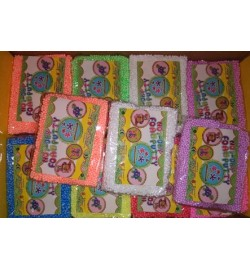 Шариковый  пластилин 8 цветов, в пакете, 10*8*2,5