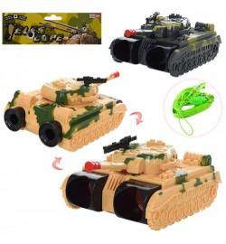 Танк 9216C3 (90шт) 16,5см, бинокль, подвижный корпус, в кульке, 19-274-6см