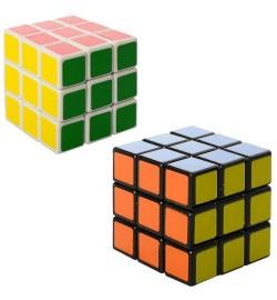 Кубик 5504-5505 (180шт) 2цвета, в кульке, 6-6-6см