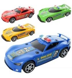 Машинка 399-170 (360шт) инер-я, 18см, 2вида, микс цветов, в кульке, 17-15-5см