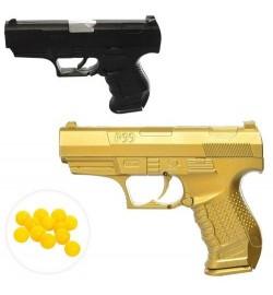 Пистолет HC-777 (234шт) 14см, на пульках, 2цвета, в кульке, 14-10-2,5см