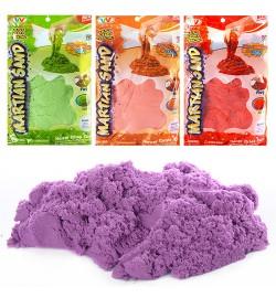 Песок для творчества MK 0364 (24шт) 1000г, блеск, 4цвета, в кульке, 13-21-4см