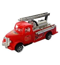 Пожарная машина 595-18-2 (288шт) инер-я, 20см, в кульке, 7-20-7см