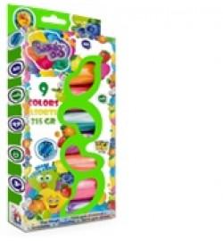 Набір тесто для ліплення ТМ LOVIN'DO 9 кольорів Арома
